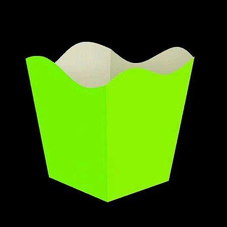 Cachepot Verde Neon - 8 unidades