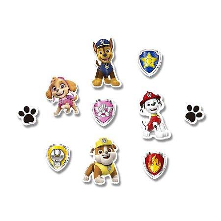 Mini Personagens Patrulha Canina - 50 un