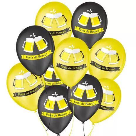 Balão Boteco São Roque - 25 unidades