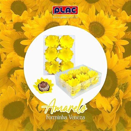 Forminha Veneza Amarela - 40 unidades