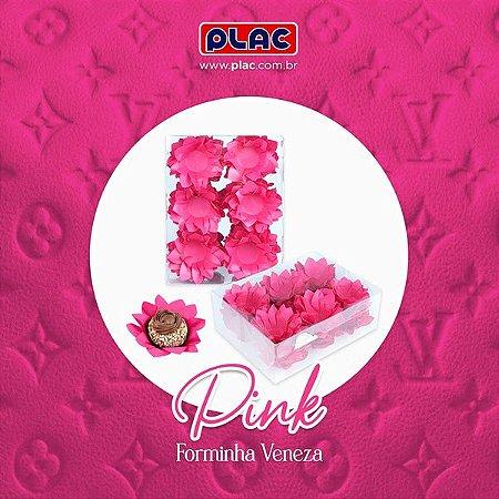 Forminha Veneza Pink - 40 unidades