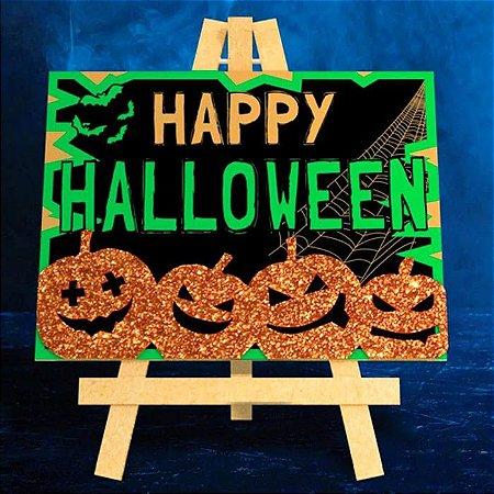Cavalete Decorativo Halloween
