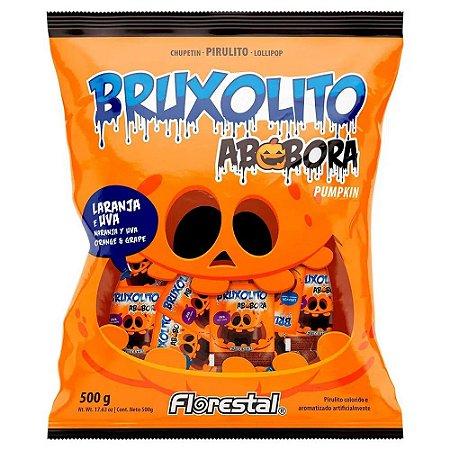 Pirulito Bruxolito Abóbora 500g