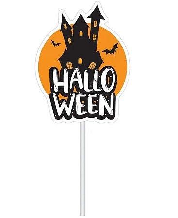 Topo de Bolo Halloween