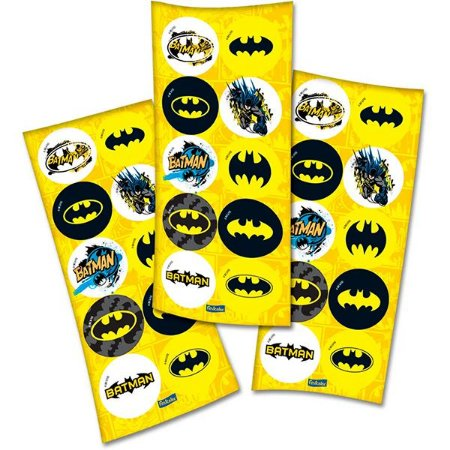 Adesivo Batman - 3 cartelas