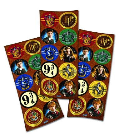 Adesivo Harry Potter - 3 cartelas