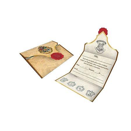 Convite Harry Potter - 8 unidades