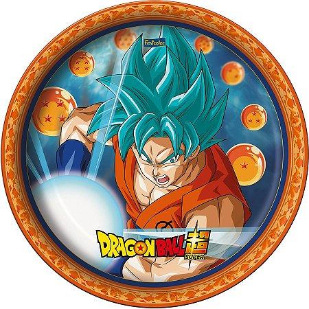 Prato de Festa Dragon Ball - 8 unidades
