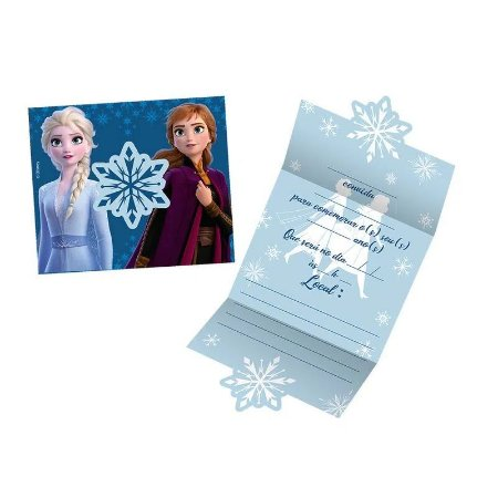 Conivite de Festa Frozen - 8 unidades