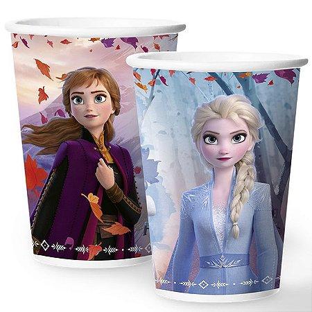 Copo de Festa Frozen - 12 unidades