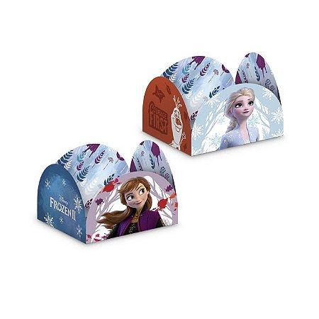 Porta Forminha para Doces Frozen - 50 unidades