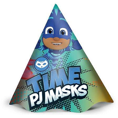 Chapéu de Festa Pj Masks - 12 unidades