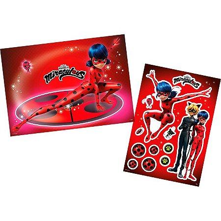 Kit Decorativo Miraculous Ladybug