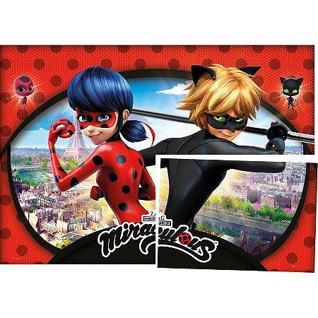 Painel de Festa Miracuous Ladybug
