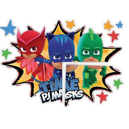 Painel de Festa Pj Masks