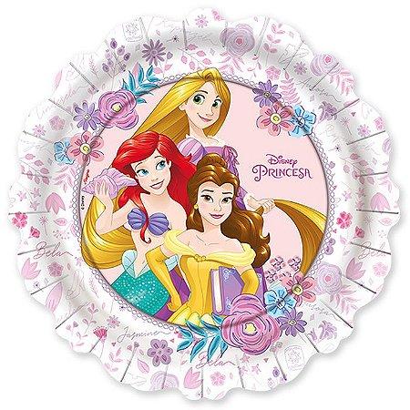 Prato de Festa Princesas Disney - 12 unidades