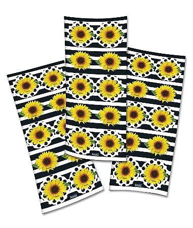 Adesivo Girassol- 3 cartelas