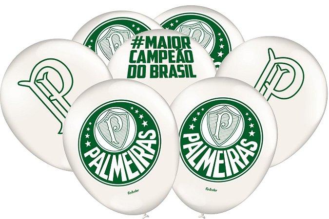 Balão de Festa Palmeiras - 25 unidades