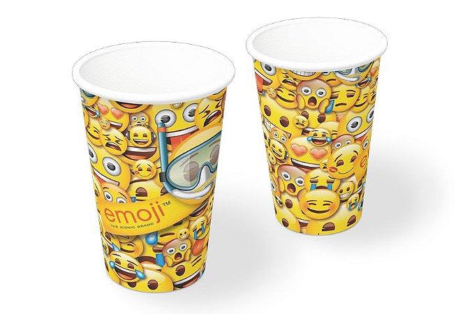 Copo de Festa Emoji - 8 unidades
