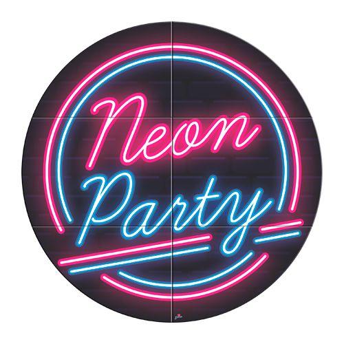 Painel de Festa Neon