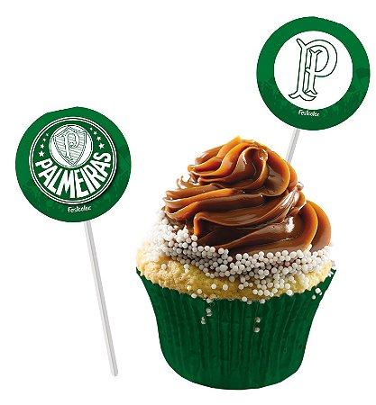 Pick Decorativo Palmeiras - 8 unidades