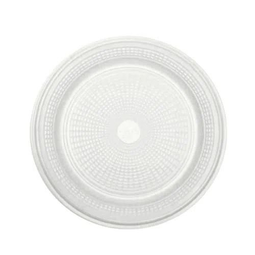 Prato Descartável Branco 15 cm. 10 unidades