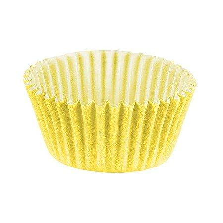 Forminha Brigadeiro n6 amarelo - 100 unidades