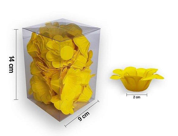 Forminha Florença Amarela - 40 unidades