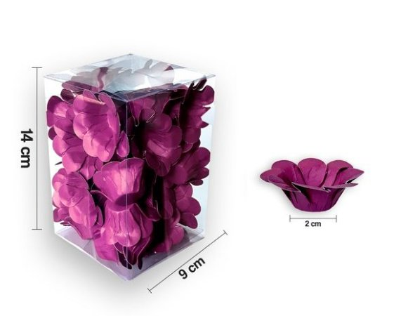 Forminha Florença Pink - 40 unidades