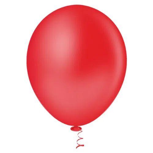 Balão 9 Vermelho - 50 unidades