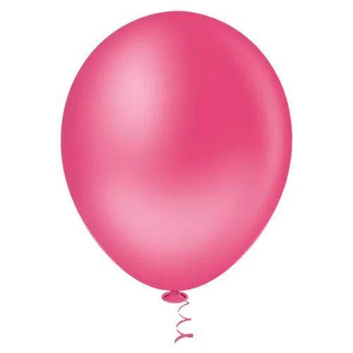 Balão Pink 6,5 Polegadas - 50 unidades