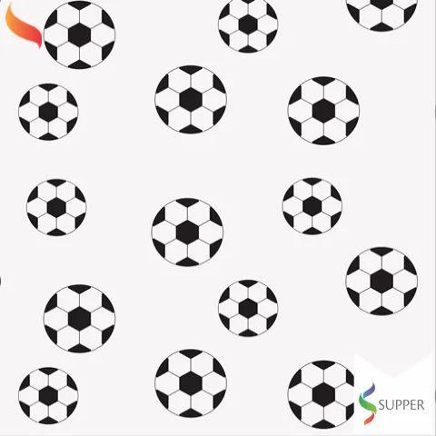 TNT Estampado Futebol - 1 metro