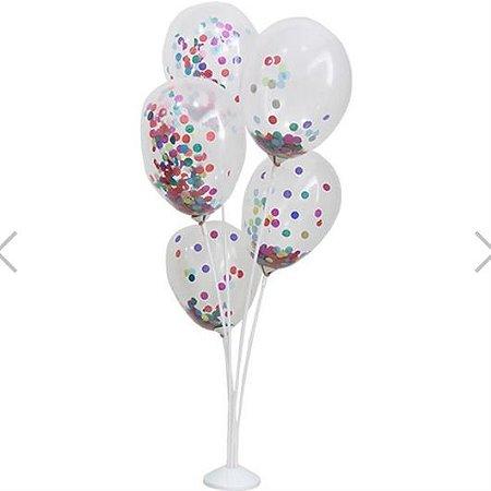 Suporte para Balão 5 Hastes - 45 centímetros