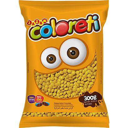 Coloreti Amarelo 300 gramas