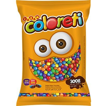 Coloreti Colorido 300 gramas