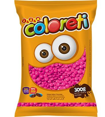 Coloreti Rosa 300 gramas