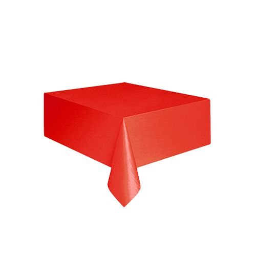 Toalha de Mesa Vermelha