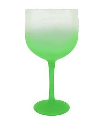Taça Gin Verde Degradê