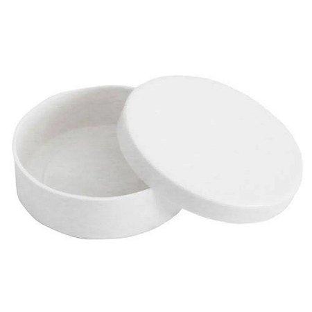 Latinha Plástica Branca  - 10 unidades