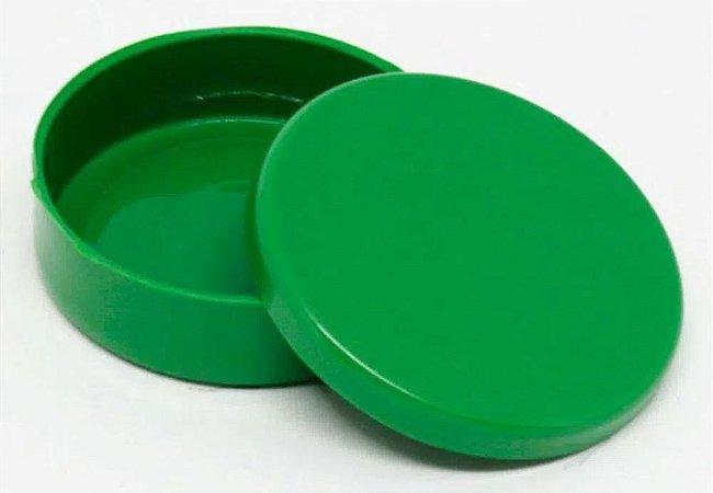 Latinha Plástica Verde - 10 unidades