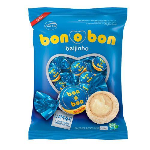 Bombom Bonobon Beijinho 750 gramas
