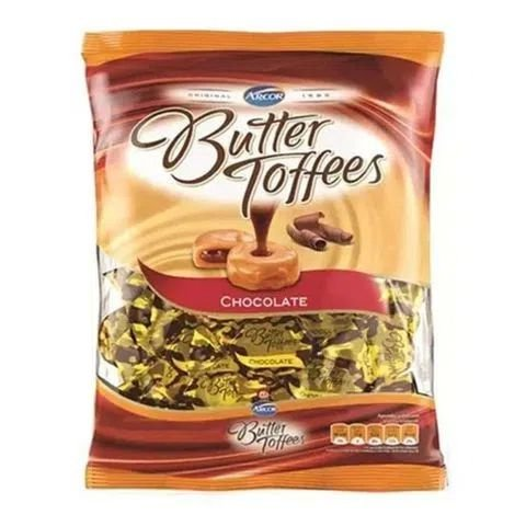 Bala Butter Toffees Chocolate - 600 gramas
