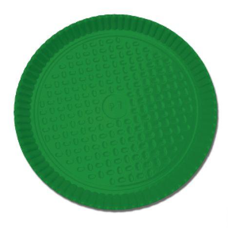 Prato Laminado Verde 26 cm