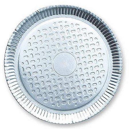 Prato Laminado Prata 30 cm