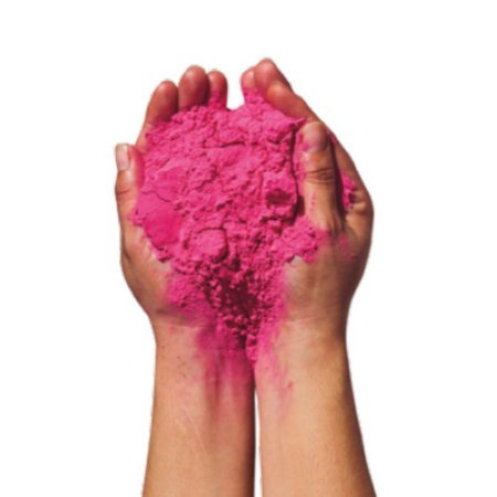 Pó Colorido Rosa