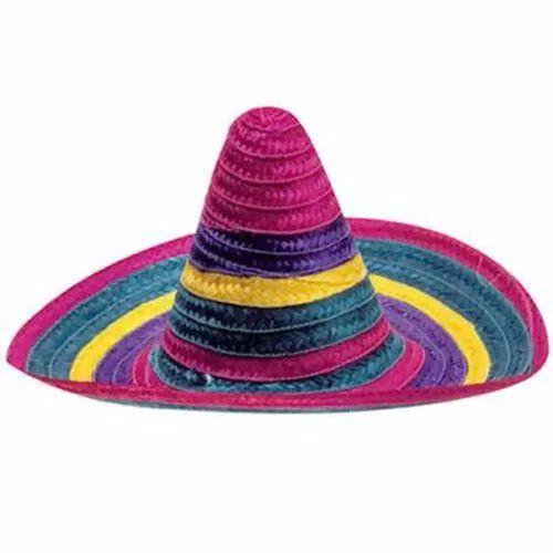 Chapéu Mexicano Colorido