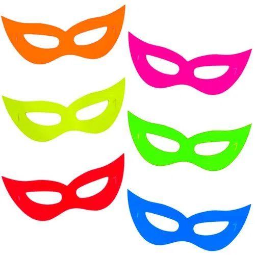 Máscara Neon - 12 unidades