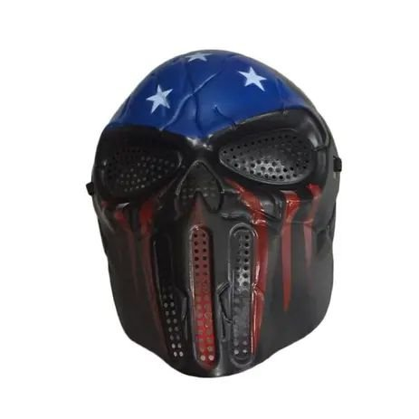 Máscara Caveira Azul