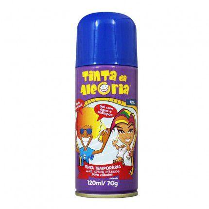 Tinta para Cabelo Azul - 120 ml