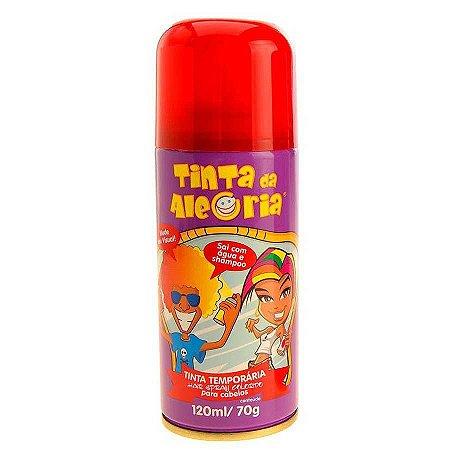 Tinta para Cabelo Vermelho - 120 ml